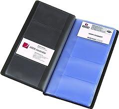 Marbig Business Card Holder Indexed 96Cap