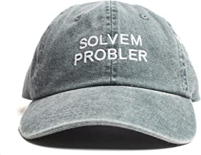 Altru Apparel Solvem Probler 6 Panel Distressed Cap with Washed Denim