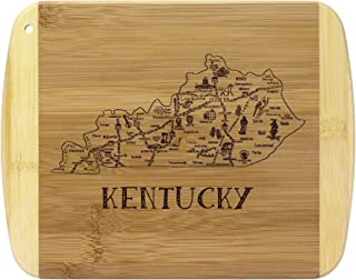 Totally Bamboo A Slice of Life Kentucky Bamboo Serving and Cutting Board