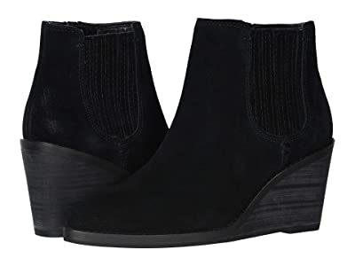FRYE AND CO. Kaye Chelsea (Black Suede) Women