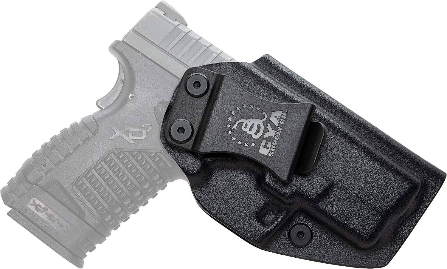 """CYA Supply Co. Fits Springfield XD-S 3.3"""" & Springfield xds holster with Light"""