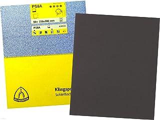 Klingspor 41560 Bandas Abrasivas para Lijadora Port/átil F5 Tipo de Uni/ón Grano 100 LS 309 XH 75 x 457 mm