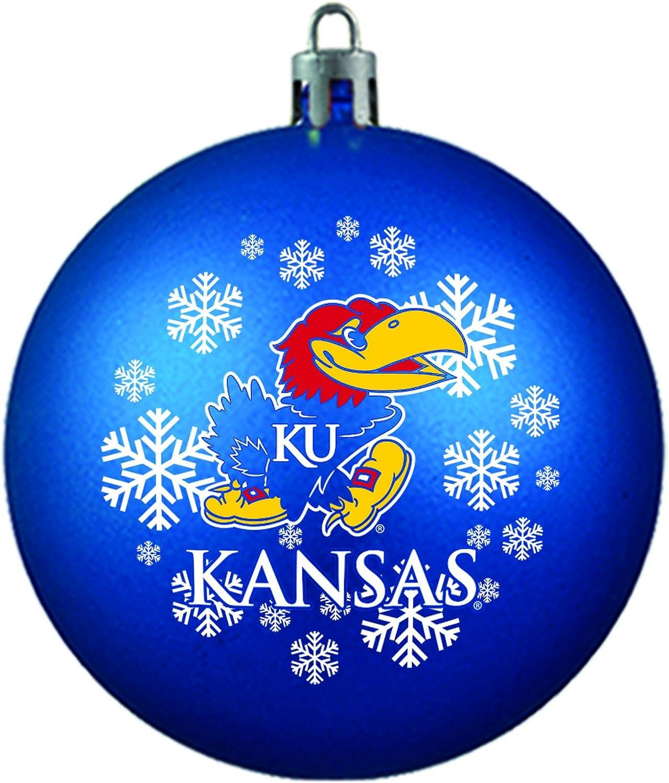 NCAA Kansas Jayhawks Shatterproof Ornament