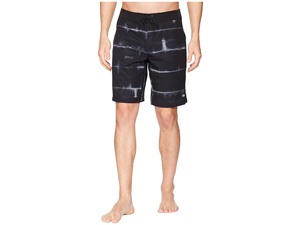 The North Face Whitecap Boardshorts 10 (TNF Black/Dye Stripe Print) Men