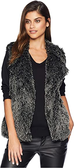 Cozy Fur Short Vest