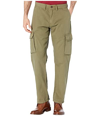Lucky Brand Ripstop Cargo Pants (Burnt Olive) Men