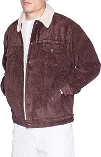 Oscar Mens Corduroy Sherpa Lining Jacket
