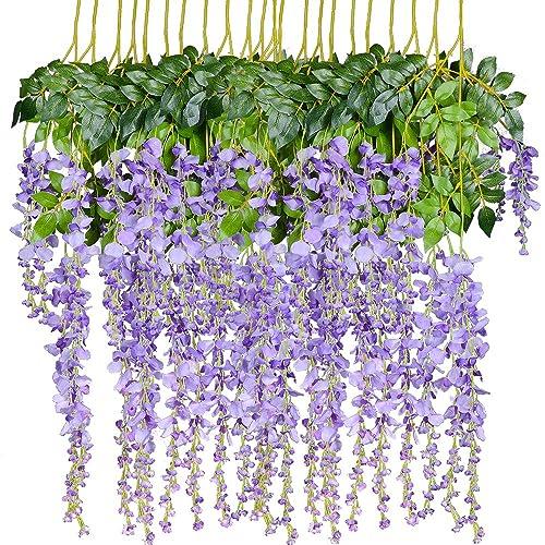 Purple And White Flowers Amazon