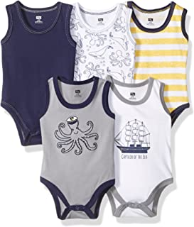 Hudson Baby Baby Boys' Sleeveless Bodysuits