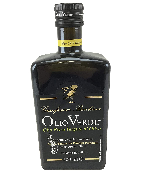 Olio Verde Novello Extra Virgin 2018 Oil Industry No. 1 Max 45% OFF Harvest Olive