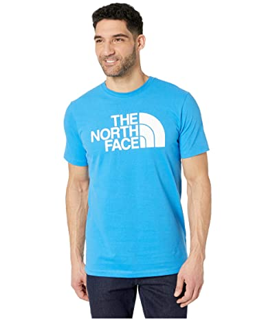 The North Face Short Sleeve Half Dome T-Shirt (Clear Lake Blue) Men