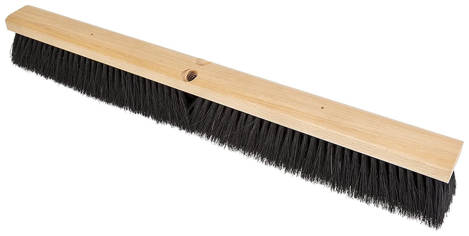 PFERD Limited time sale 89255 Medium Sweeping Broom with Block Lacquered Colorado Springs Mall Hardwood