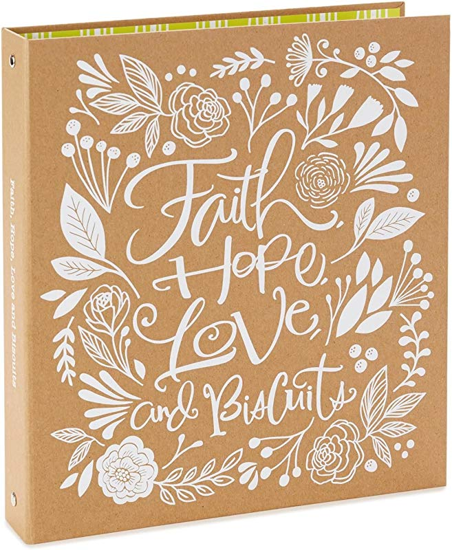 Hallmark Faith Hope Love And Biscuits Recipe Book