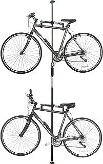 SPAREHAND Q-RAK II Floor-to-Ceiling Freestanding Adjustable Bike Rack Storage, Max Weight Limit 80 lbs,