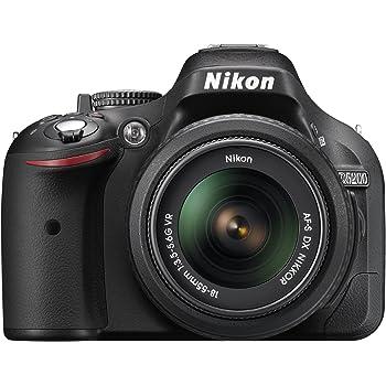 Nikon D5200 24.1 MP CMOS Digital SLR with 18-55mm f/3.5-5.6 AF-S DX VR NIKKOR Zoom Lens (Black) (Discontinued by Manufacturer)