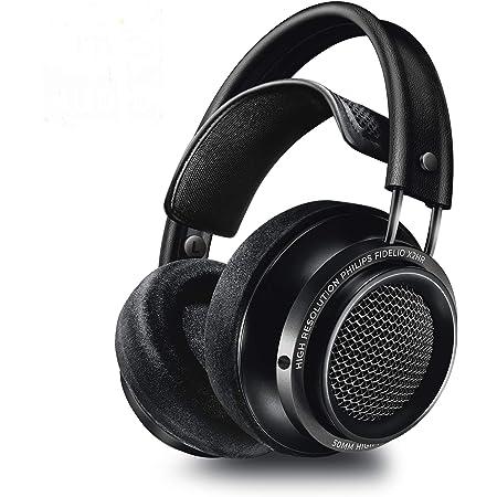Philips Audio Fidelio X2HR Over-Ear Open-Air Headphone 50mm Drivers- Black