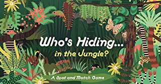 Laurence King Publishing Who's Hiding in The Jungle?: A Spot and Match Game, Multicolor
