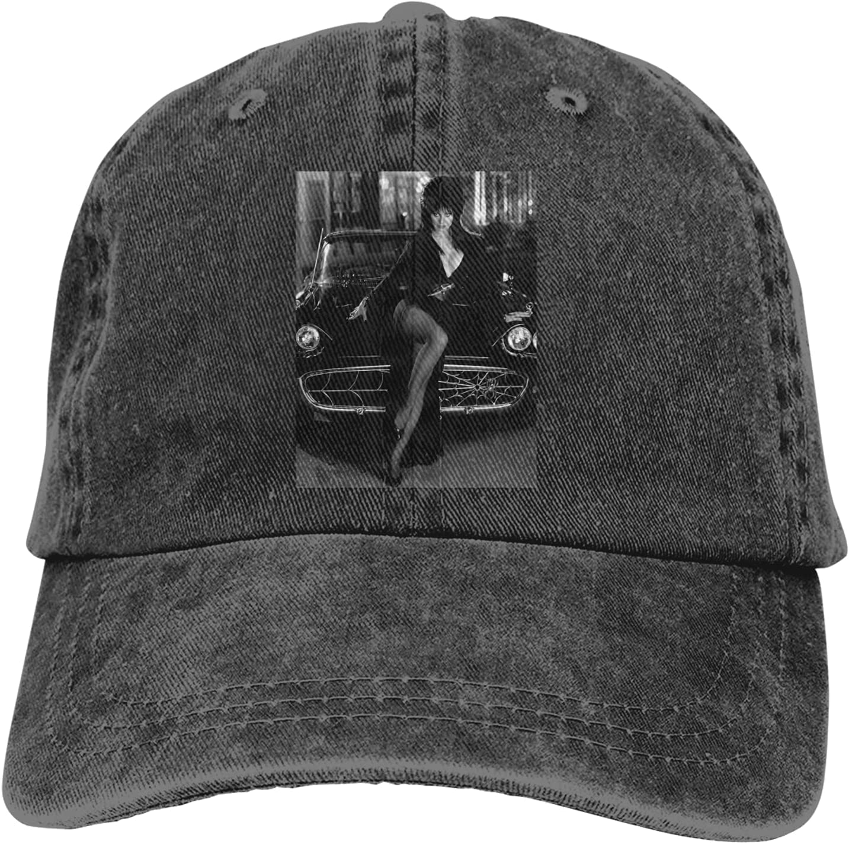 Elvira Cowboy Hat Unisex Adjustable Hat Circumference Size Pure Cotton Denim Wash Water Outdoor