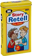 Super Duper Publications | Story Retell Comprehension Fun Deck | Auditory Memory and Listening Skills Flash Cards | Educational Learning Materials for Children