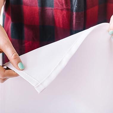 "Deny Designs Monika Strigel Farmhouse Sweet Home Chalkboard Black Shower Curtain, 72"" x 69"", Black & White"