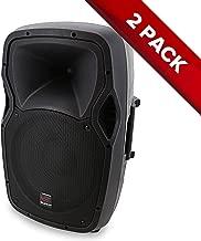 """2X Swamp 12"""" Powered PA Speaker - Bi-Amped - 150W + 30W RMS"""