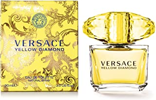 Versace Diamond Eau De Toilette Spray, Yellow, 3 Fl Oz