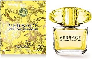 Versace Diamond Eau De Toilette Spray, Yellow, 3 Fl Oz