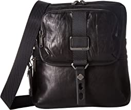 Alpha Bravo Arnold Leather Zip Flap