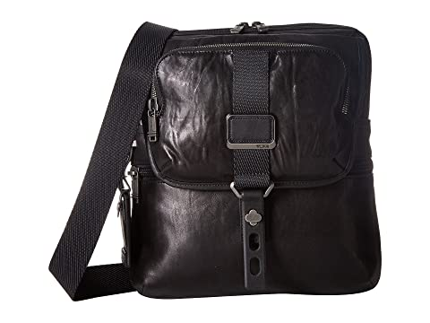06c6400990a8 Tumi Alpha Bravo Arnold Leather Zip Flap at Zappos.com