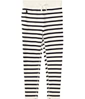 Polo Ralph Lauren Kids Striped French Terry Leggings (Toddler)