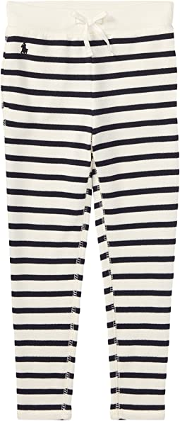 Polo Ralph Lauren Kids - Striped French Terry Leggings (Toddler)
