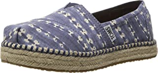 TOMS Kids Womens Platform Alpargata Espadrille (Little Kid/Big Kid)