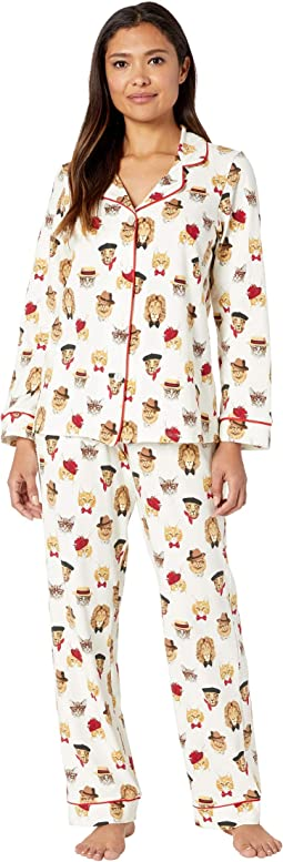 Long Sleeve Classic Notch Collar Pajama Set