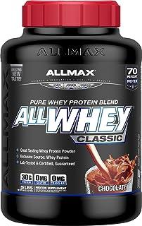 オールホエイクラシック 100%ホエイプロテイン チョコレート 2.27kg (ALLWHEY Classic - Chocolate 5LB) [海外直送品] [並行輸入品]