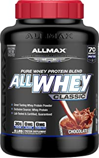 ALLMAX Nutrition AllWhey Classic 100% Whey Protein, Chocolate, 5 lbs