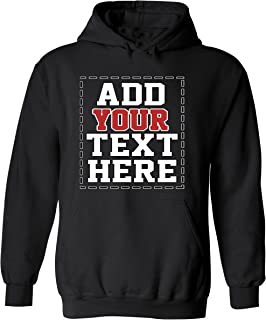 Design Your OWN Hoodie - Cool Custom Graphic Sweaters Hoodies for Men & Women