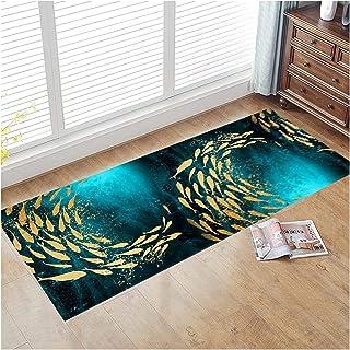 3D Runner Rug for Hallway, Soft Non Slip Narrow Hall Carpet, 0.6cm Thick Absorbent Floor Mat for Bedroom Laundry Stairs En...