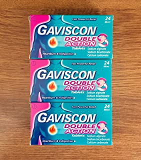 Gaviscon Double Action 72 Tablets (24x3)