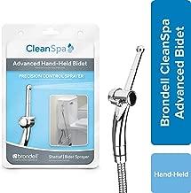Hand Held Bidet Sprayer for Toilet: Brondell CleanSpa Advanced Bidet Attachment with Precision Pressure Control Jet Spray - Ergonomic Handheld Bidet for Toilet - Toilet Water Sprayer and Hose Set