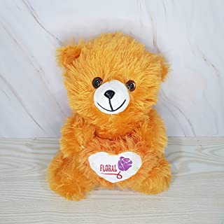 Kiddie Toys Super Soft Teddy Bears with a Heart Huggable Stuffed Soft Toy (Brown, 35 cm)