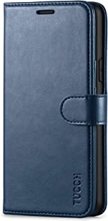 TUCCH iPhone 11 Case, iPhone 11 Leather Wallet Case with RFID Blocking, Shockproof TPU Shell,Card Slots,Kickstand, Magneti...