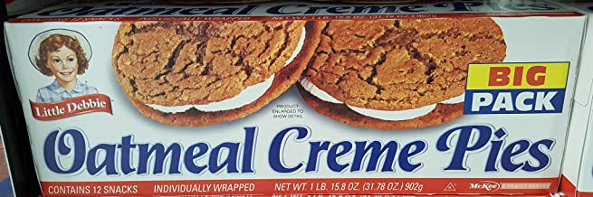 Little Debbie Big Packs 2 Boxes of Snack Cakes & Pastries (Oatmeal Creme Pies)