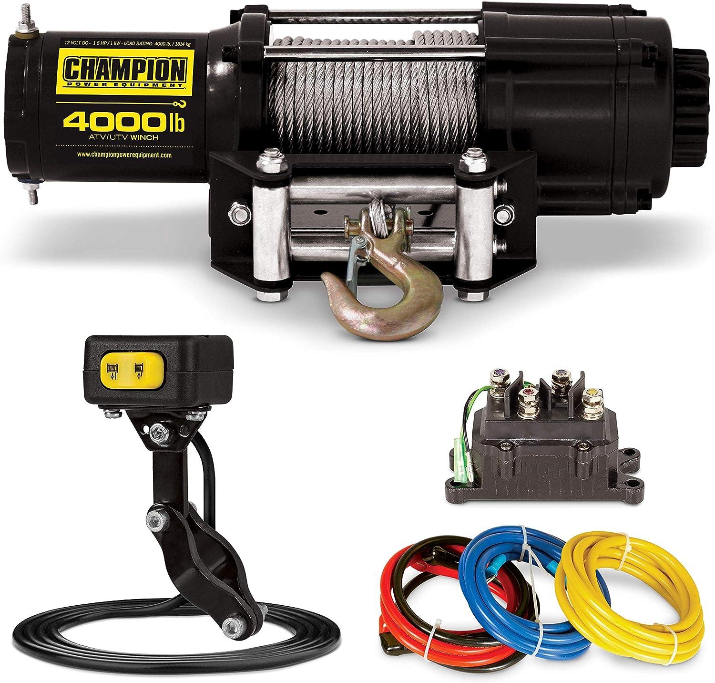 Champion 4000-Lb. ATV/UTV Winch Kit