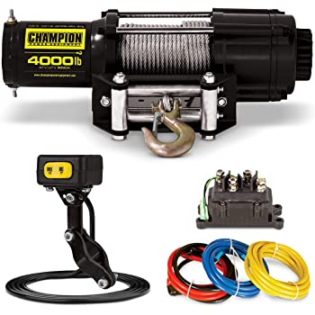 Champion 4000-lb. ATV/UTV Winch Kit with Mini-Rocker