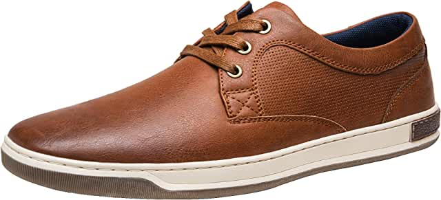Men's Fashion Sneakers 3 Eyelets Simple Style Casual Shoes
