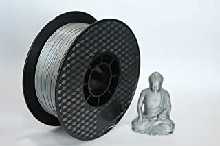 Premium Upgraded Silver Silk PLA 1.75mm 3D Filament by WOL3D … … …
