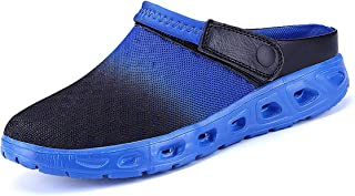 CELANDA Unisex Clogs Breathable Mesh Slippers Garden Shoes for Mens Womens