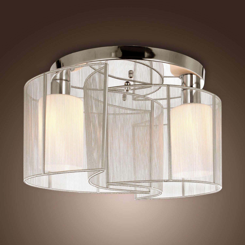 LightInTheBoxモダンな埋め込みシャンデリアホールリビングルームの天井照明ホワイト143246