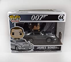Daniel Craig James Bond 007#44 Autographed Signed Funko Pop Rides Aston Martin DB5 Car 'GA' Certified Authentic COA