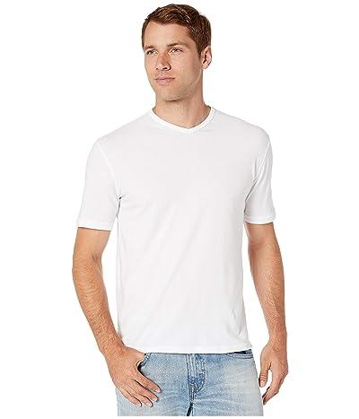 Mod-o-doc San Diego Short Sleeve V-Neck (White) Men